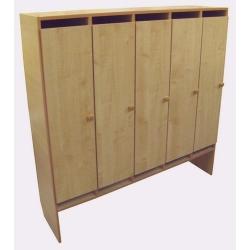 Шкаф для одежды (5 мест) ЛДСП
