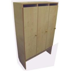 Шкаф для одежды (3 места) ЛДСП