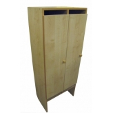 Шкаф для одежды (2 места) ЛДСП
