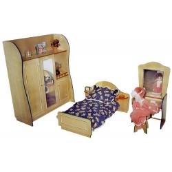 Спальный гарнитур игровой СОНЯ (4 предмета)