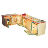 Комплект кухонной мебели игровой (6 предметов)