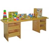 Для игрушек и дидактики
