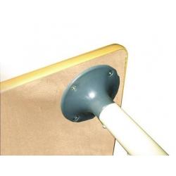 Стол Подкова на рег. ножках (столешница-фанера)