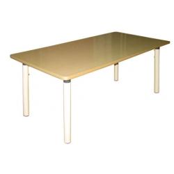 Стол прямоугольный на рег. ножках (столешница-ЛДСП)