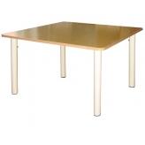 Стол квадратный на рег. ножках (столешница-фанера)