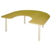 Стол Подкова на рег. ножках (столешница-ЛДСП)