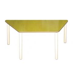 Стол трапеция на рег. ножках (столешница-пластик)