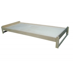 Кровать складируемая (штабелируемая) без колесных опор