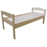 Кровать 1-ярусная (без матраса), фанера
