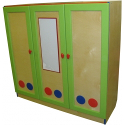 Шкаф игровой ЮЛЯ (3-х створчатый)